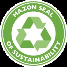 Hazon seal of sustainablity