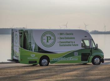 Electric Delivery Van