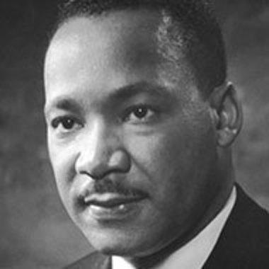Martin Luther King Jr. headshot