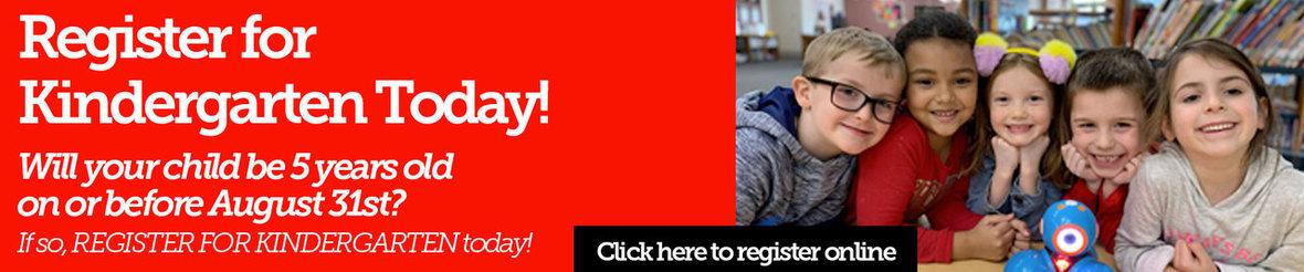 Register for kindergarten - click here