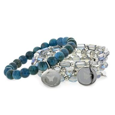 2 beautiful Embrace the Difference bracelets.