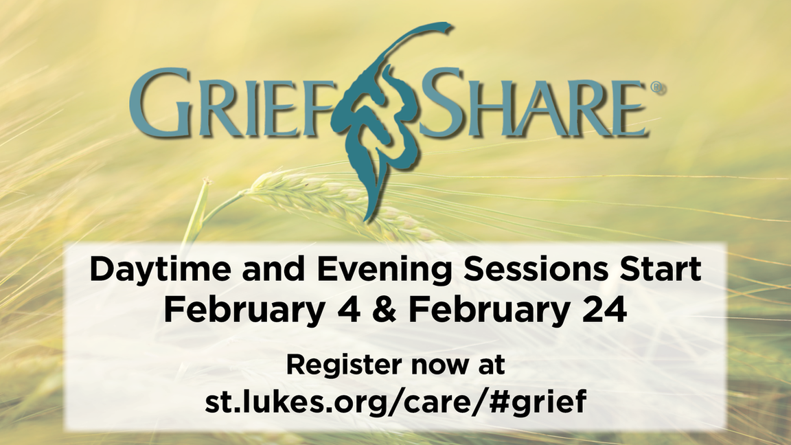 Griefshare section of care page link