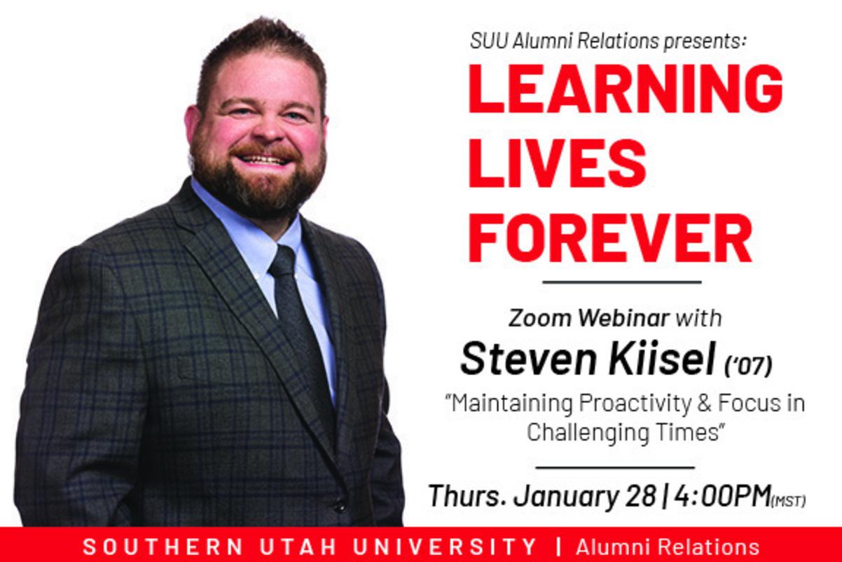 Steven Kiisel - Learning Lives Forever Virtual Event
