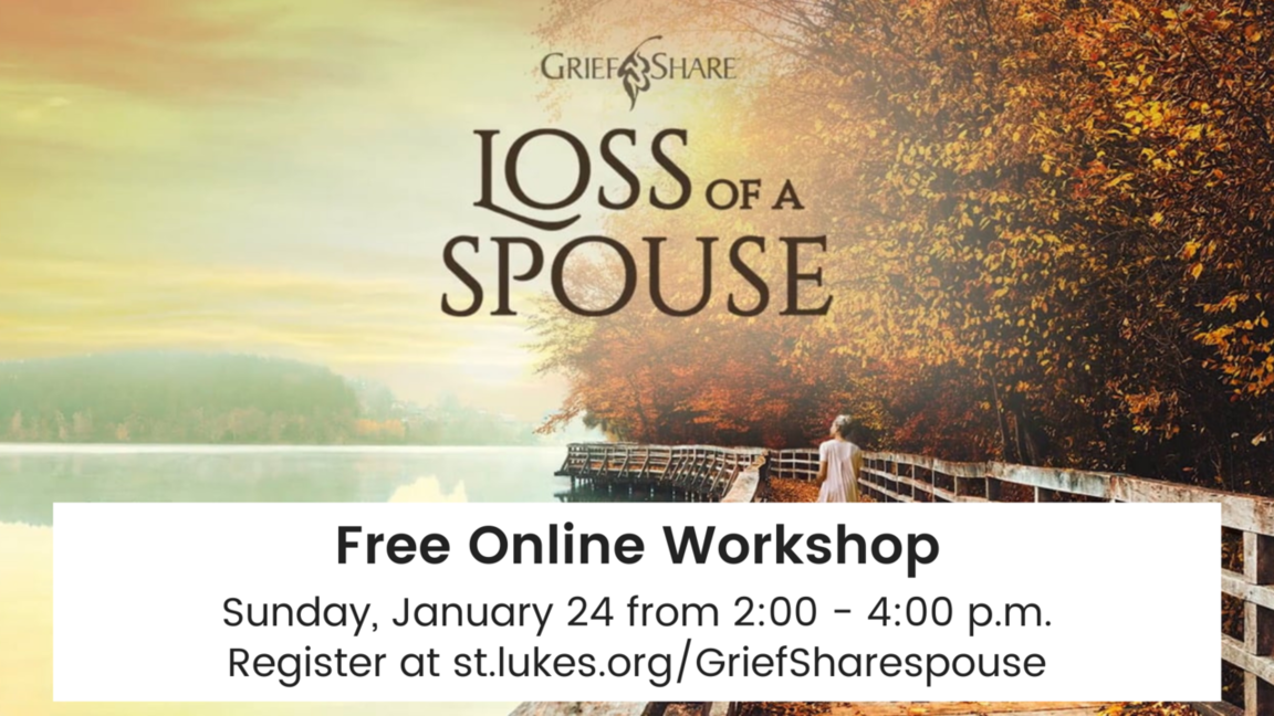 Loss of a spouse arena registration link