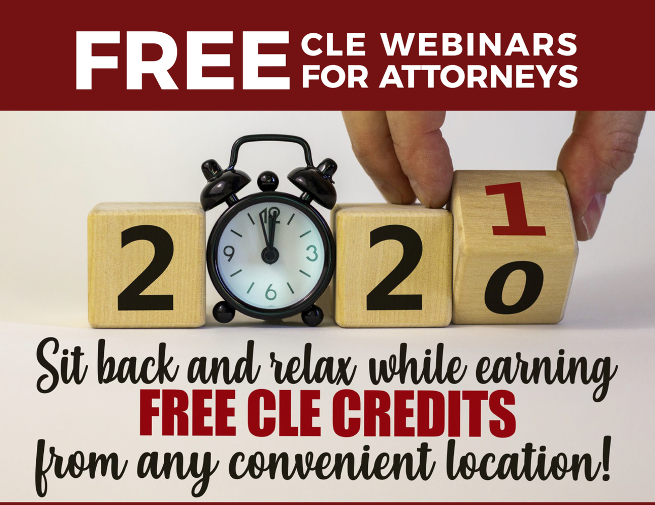 Free CLE Webinar for Attorneys 2021