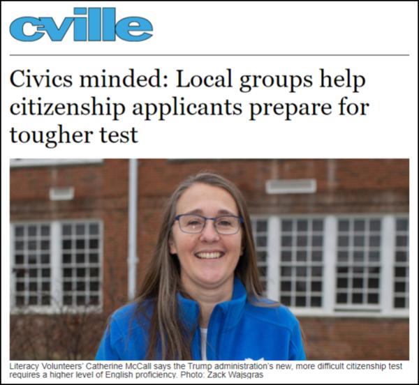 C-VILLE Article