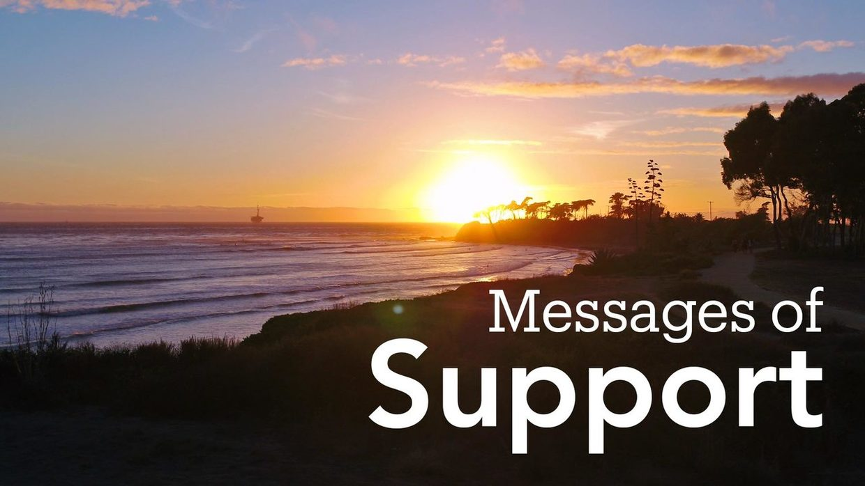 Messages of Support