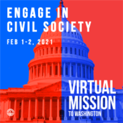 Join the National, Virtual Mission to Washington, DC