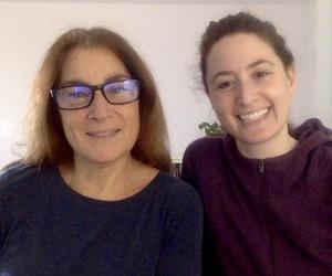 Ilene Vogelstein and Ahava Vogelstein