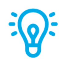 Blue Lightbulb, Icon by ✦ Shmidt Sergey ✦ from the Noun Project.