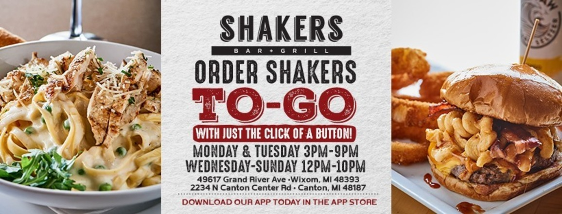 Order Shakers TO GO