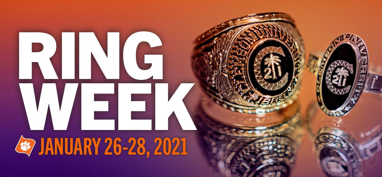 Ring Week January 26-28, 2021