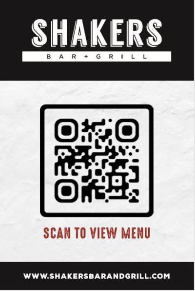 Scan to view menu