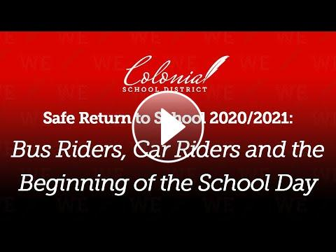 To learn more about how we will safely transport your child to and from school, visit https://youtu.be/KS1SKWUMG6Y