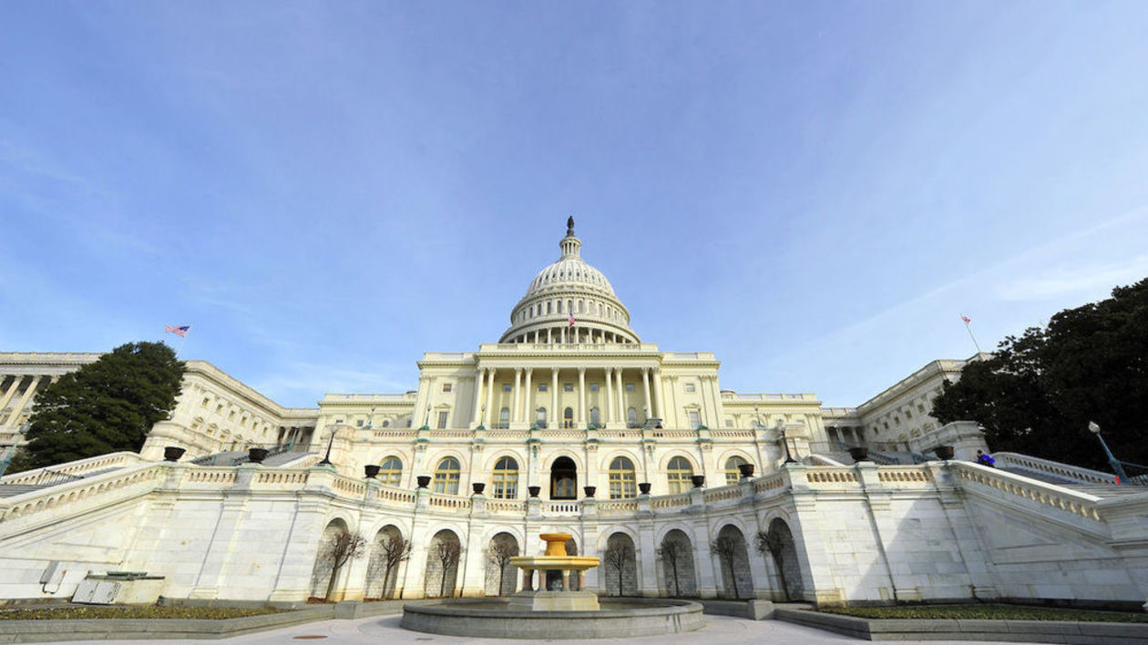 Photo of United States Capitol building.