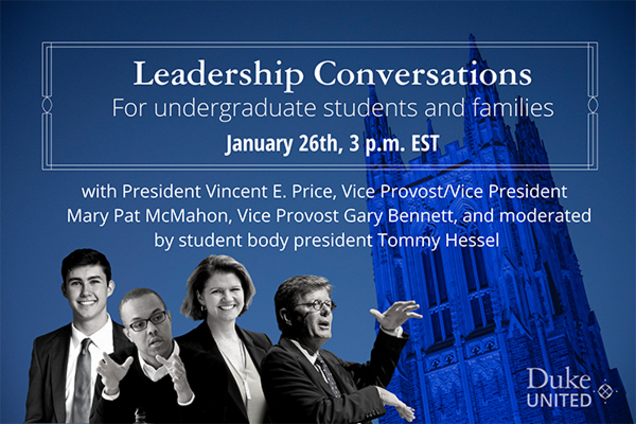 flyer for leadership conversations