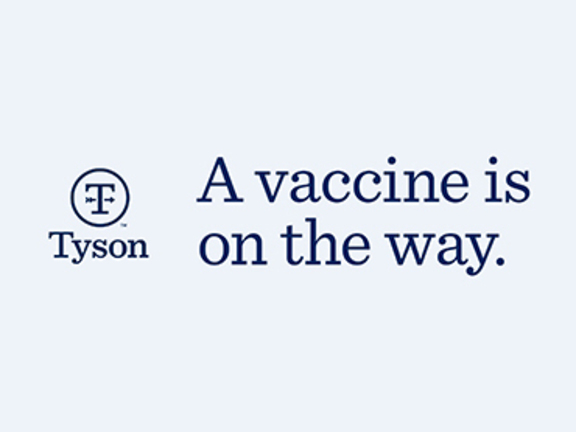 A vaccine is on the way