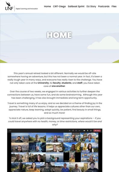CIRT retreat website