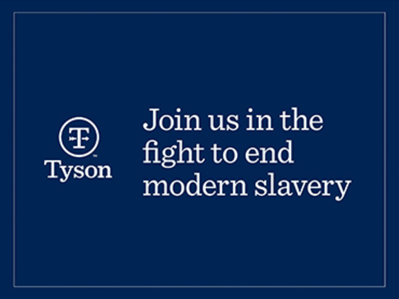 Join us in the fight to end modern slavery