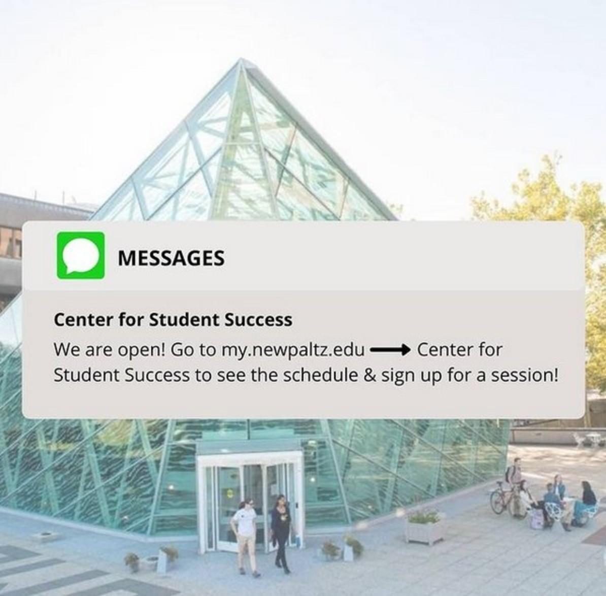 Center for Student Success on Instagram