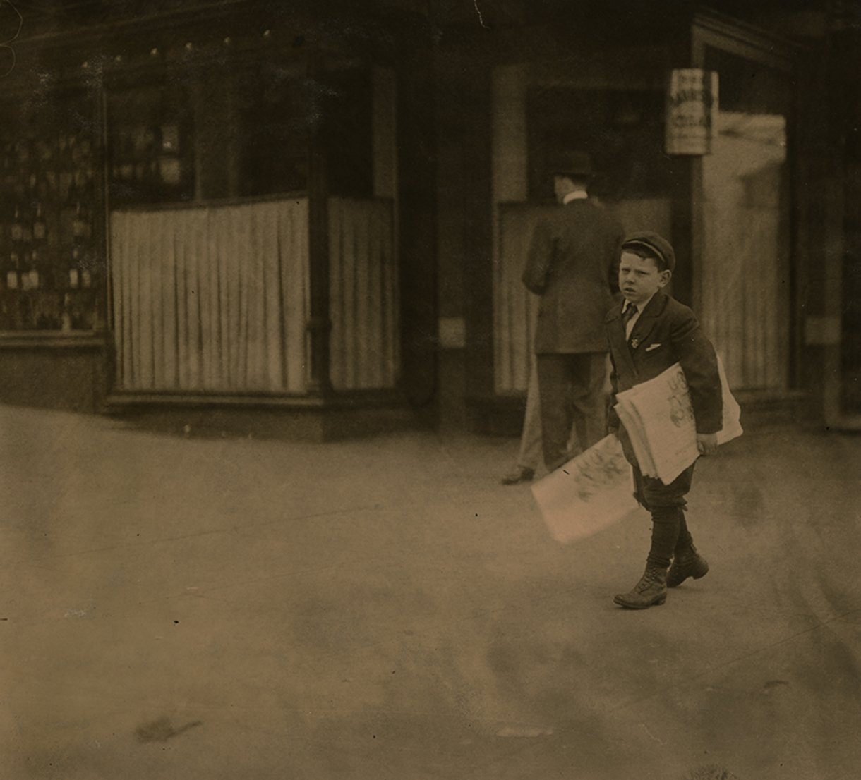 """Lewis Hine, Child Labor Investigator"" opens Feb. 6 at The Dorsky Museum"