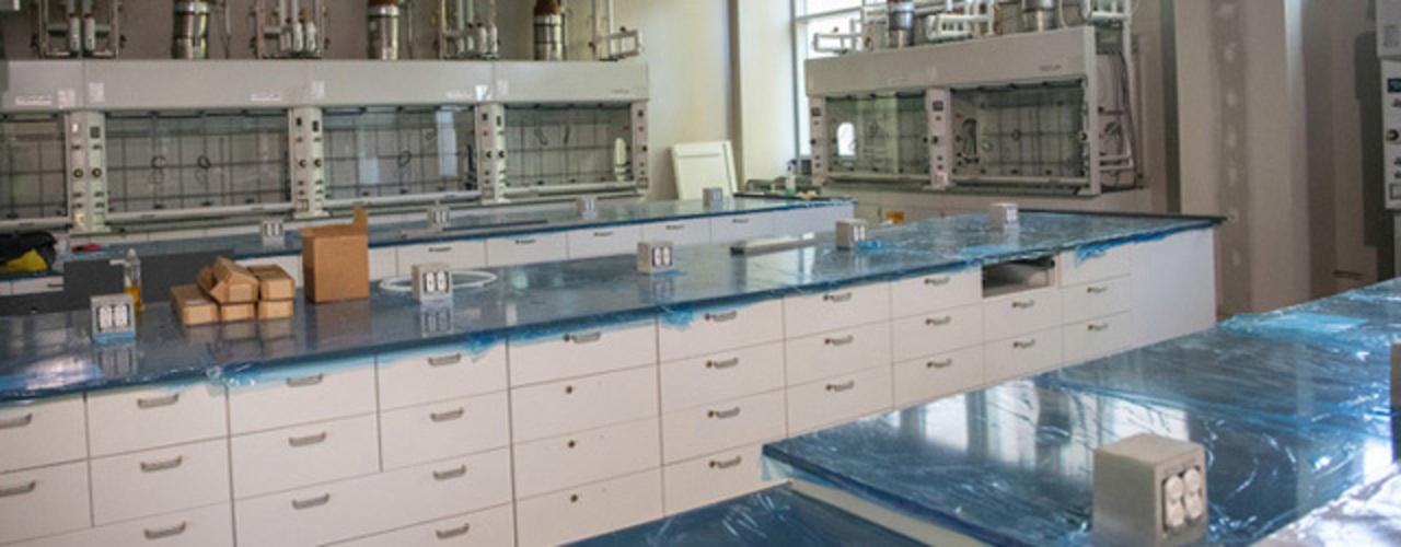 New chemistry lab