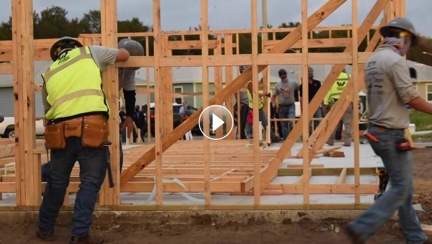 Habitat's Home for the Holidays Build video