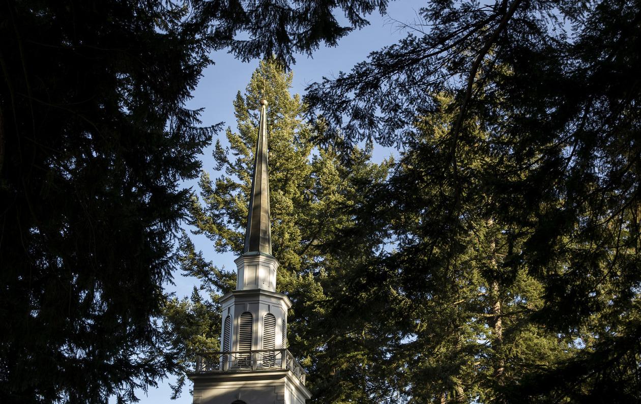 Kilworth Memorial Chapel steeple