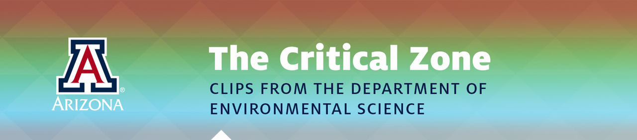 Critical Zone - Clips from the Department of Environmental Science