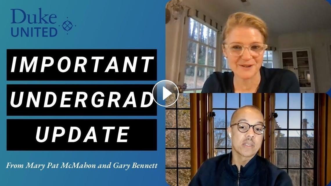 YouTube preview of VPs Mary Pat McMahon and Gary Bennett