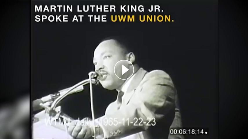 MLK Jr. Spoke at the UWM Union
