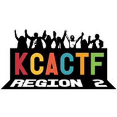 logo for Region 2 of the Kennedy Center American College Theatre Festival