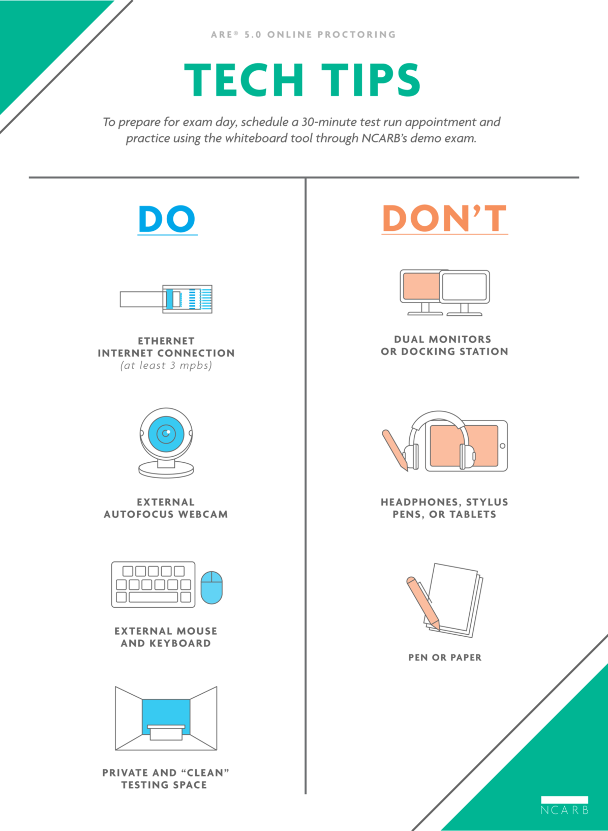 Tech Tips Infographics