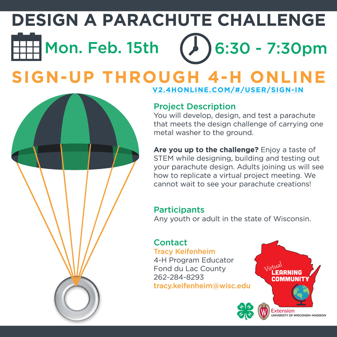 STEM Virtual Project Sign up