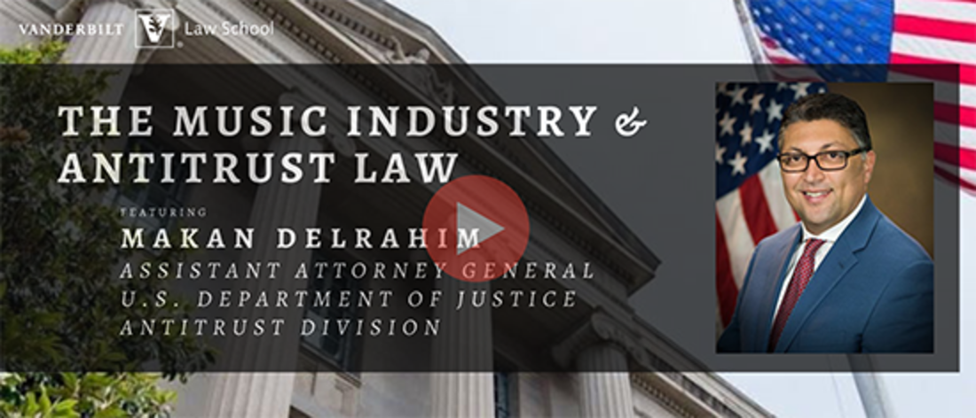 JETLaw hosts DOJ webinar on the future of the ASCAP and BMI Consent Decrees led by Assistant Attorney General Makam Delrahim