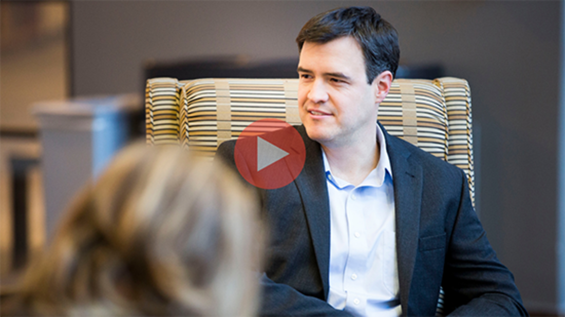 Nat Robinson '18 (MBA'07) discusses Leaf Fintech, the startup he launched as a VLS student