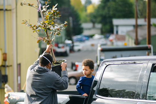 Kids and trees can grow together!