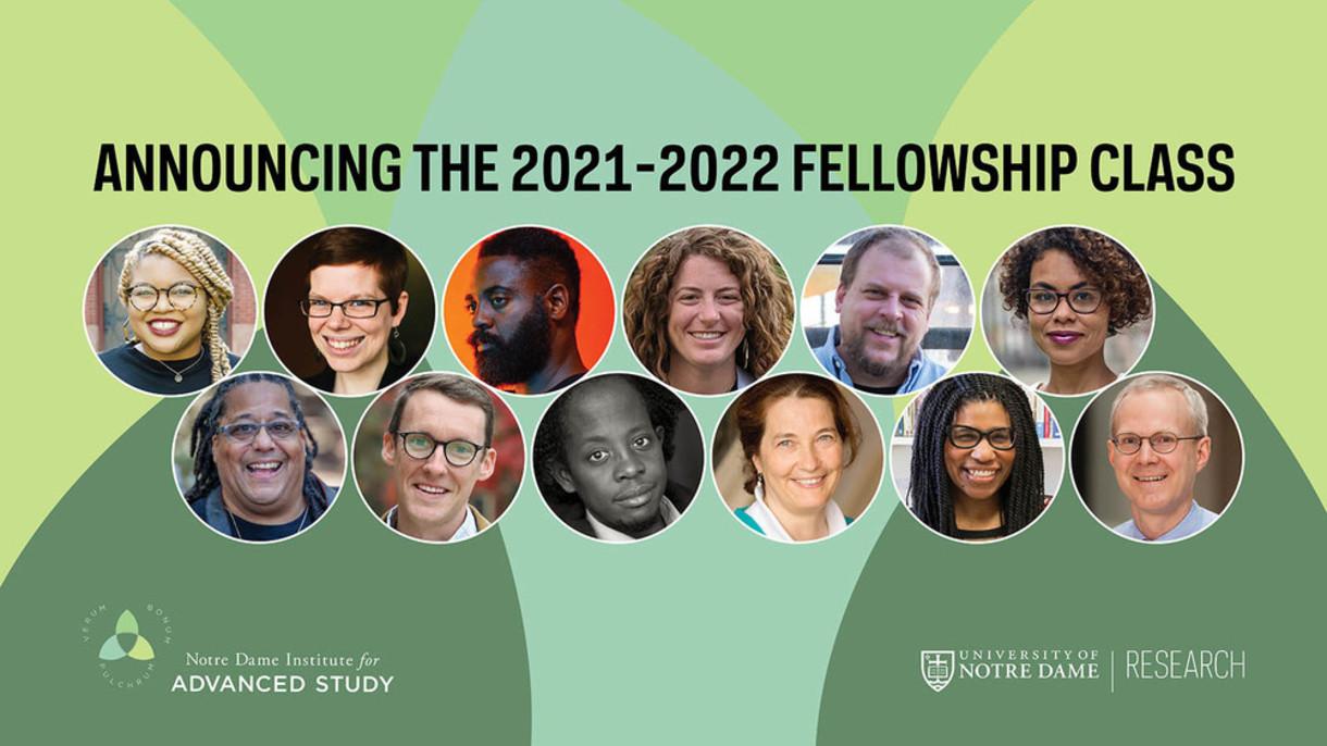 Announcking the 2021-2022 Fellowship class