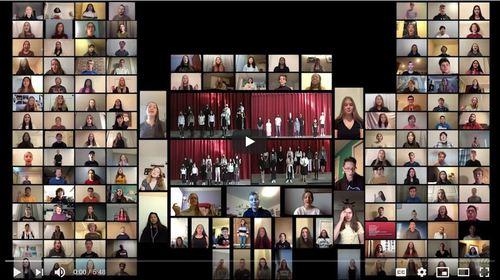 GHS feeder area choirs spark Revolution