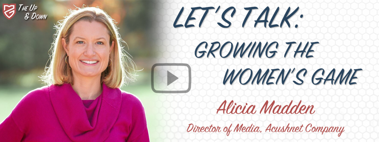 Growing the Women's Game: Alicia Madden