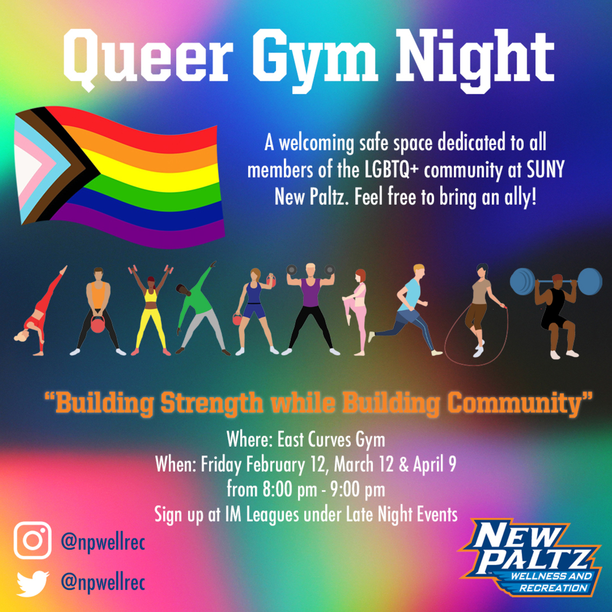 Queer Gym Night registration on IMLeagues