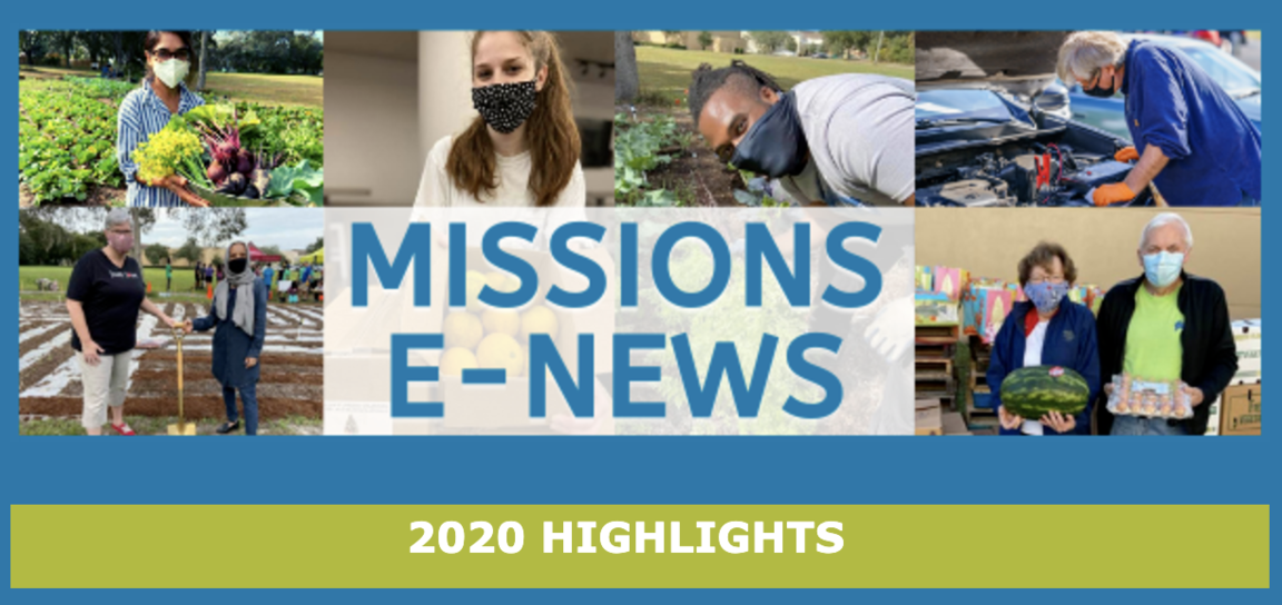 2020 Missions highlights newsletter
