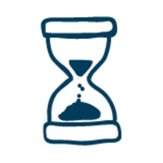Hourglass graphic