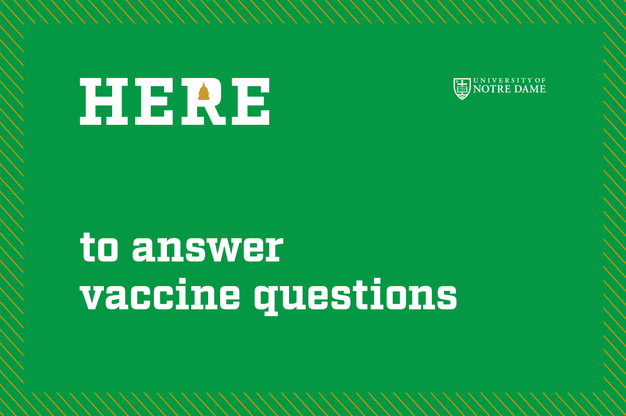 Here to answer vaccine questions