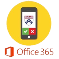 Penn Duo graphic and Office 365 logo