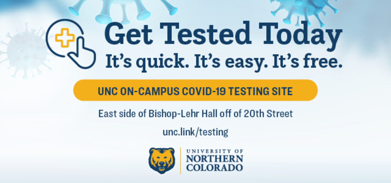 Get Tested Today graphic