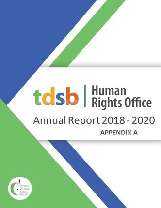 TDSB Human Rights Office Annual Report 2018-2020