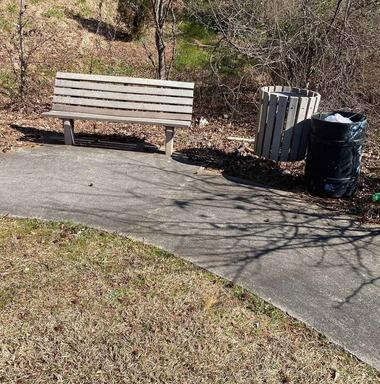 E Ponce dd Leon PATH trash clean up