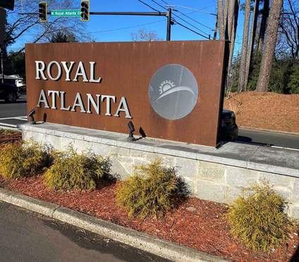 Royal Atlanta Sign