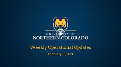 Weekly Operational Updates, Feb. 18